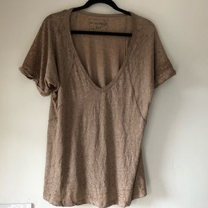 We the Free People v-neck t-shirt